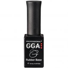 Каучуковая база под гель лак GGA Professional Rubber Base, 10 мл