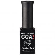Каучуковый топ для гель лака GGA Professional Rubber Top, 10 мл