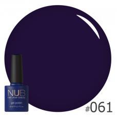 Гель-лак NUB № 061 (сине-фиолетовый)