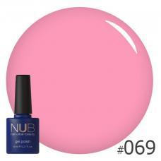 Гель-лак NUB № 069 (молочный розовый)