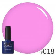 Гель-лак NUB № 018 (светло-розовая фуксия)
