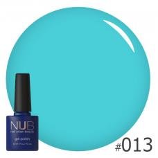 Гель-лак NUB № 013 (синий)