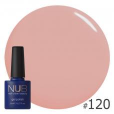 Гель-лак NUB № 120 (розовый шоколад)