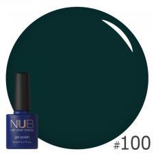 Гель-лак NUB № 100 (зеленая морская волна)