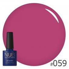Гель-лак NUB № 059 (светлая слива)