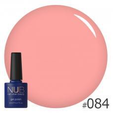 Гель-лак NUB № 084 (пастельный розовый персик)