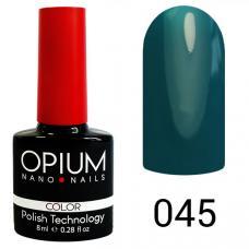 Гель-лак OPIUM №45 (изумруд), 8 мл