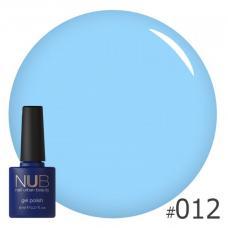 Гель-лак NUB № 012 (голубой)
