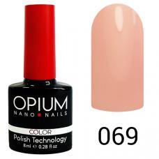 Гель-лак OPIUM №69 (Розовый), 8 мл