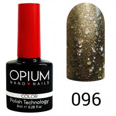 Гель-лак OPIUM №96 (Белое золото с шимером), 8 мл