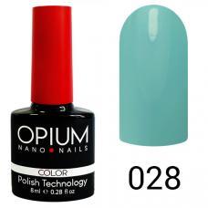 Гель-лак OPIUM №28 (светло голубой), 8 мл