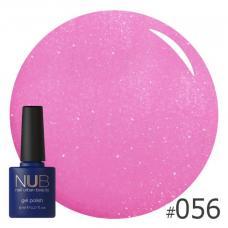 Гель-лак NUB № 056 (розово-сиреневый)
