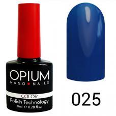 Гель-лак OPIUM №25 (светло синий), 8 мл