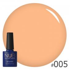Гель-лак NUB № 005 (абрикосовый)