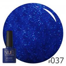 Гель-лак NUB № 037 (темно-синий)