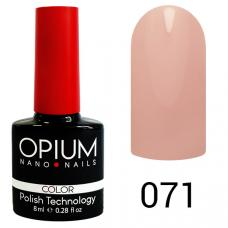 Гель-лак OPIUM №71 (бело-розовый), 8 мл