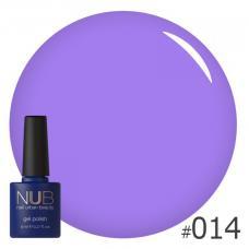 Гель-лак NUB № 014 (фиолетовый)