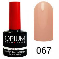 Гель-лак OPIUM №67 (Дымчатый розовый), 8 мл