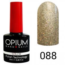 Гель-лак OPIUM №88 (Брилиантовый песок), 8 мл