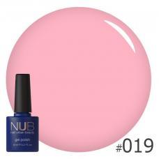 Гель-лак NUB № 019 (розово-лососевый)