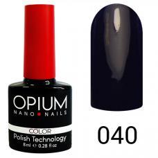 Гель-лак OPIUM №40 (черничный), 8 мл