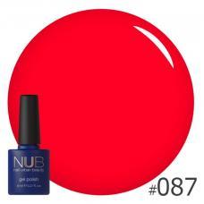Гель-лак NUB № 087 (классический красный)
