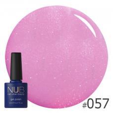 Гель-лак NUB № 057 (мягкий розово-сиреневый)