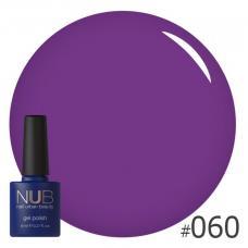 Гель-лак NUB № 060 (фиолетово-лиловый)