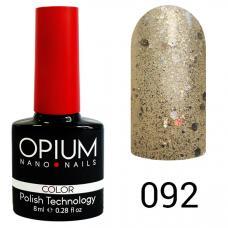 Гель-лак OPIUM №92 (Брилиантовые брызги), 8 мл