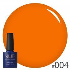 Гель-лак NUB № 004 (морковный)