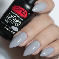 Гель лак PNB №154 (серый, эмаль), 8 мл