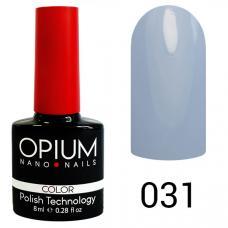 Гель-лак OPIUM №31 (синий ), 8 мл