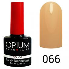 Гель-лак OPIUM №66 (Телесный), 8 мл