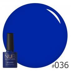 Гель-лак NUB № 036 (темно-синий)