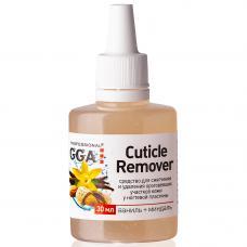 Ремувер для кутикулы GGA 30 мл, ваниль и миндаль