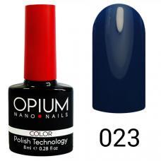 Гель-лак OPIUM №23 (темно синий), 8 мл