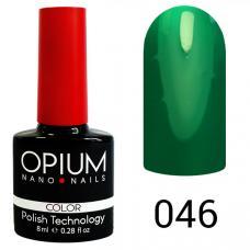 Гель-лак OPIUM №46 (светло зеленый), 8 мл