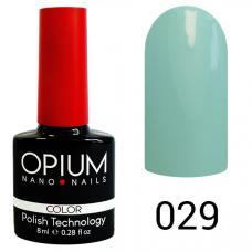 Гель-лак OPIUM №29 (голубой-белёс), 8 мл