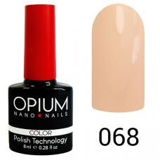 Гель-лак OPIUM №68 (Теплый розовый), 8 мл