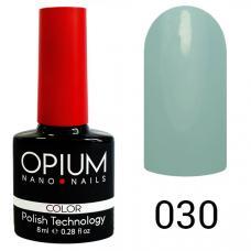 Гель-лак OPIUM №30 (серо голубой), 8 мл