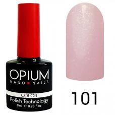 Гель-лак OPIUM №101 (Светло-фиолетовый с перламутром), 8 мл