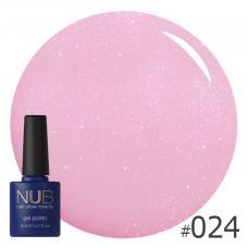 Гель-лак NUB № 024 (светло-розовый)