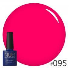 Гель-лак NUB № 095 (неоново-розовый)