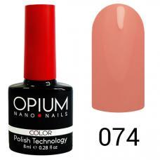 Гель-лак OPIUM №74 (Насыщенно розовый), 8 мл