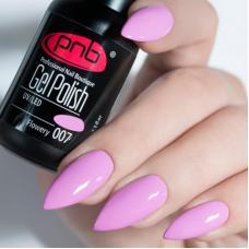 Гель лак PNB №007 (холодный розовый, эмаль)