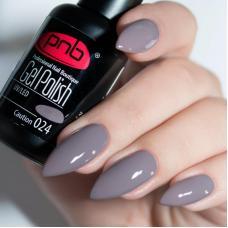 Гель лак PNB №024 (серый, эмаль)