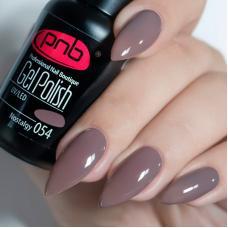 Гель лак PNB №054 (коричнево-серый, эмаль)