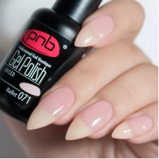 Гель лак PNB №071 (молочно-розовый, эмаль)