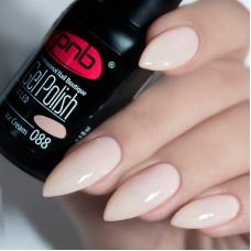 Гель лак PNB №088 (розово-кремовый, эмаль)