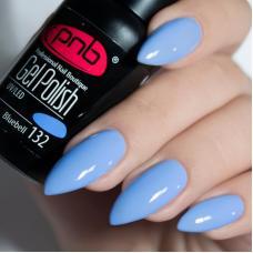 Гель лак PNB №132 (cветло-голубой, эмаль)